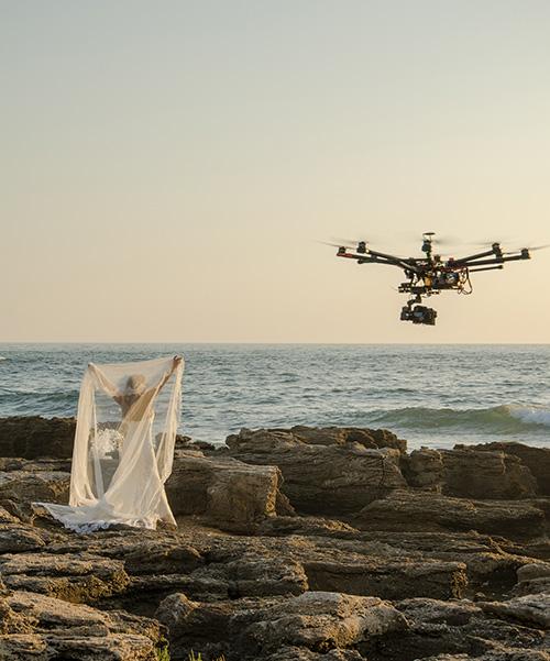 grabación con drones cádiz sectores