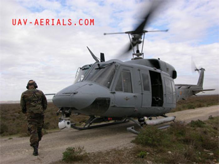 helicóptero con bola gallardo