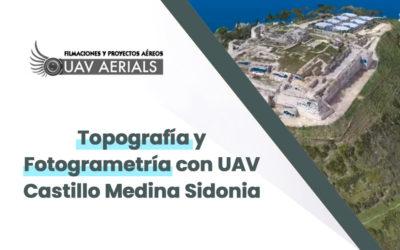 Topografía y Fotogrametría con UAV Castillo Medina Sidonia