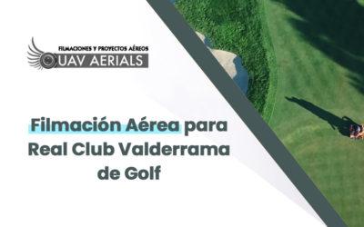 Filmación Aérea para Club Valderrama de Golf