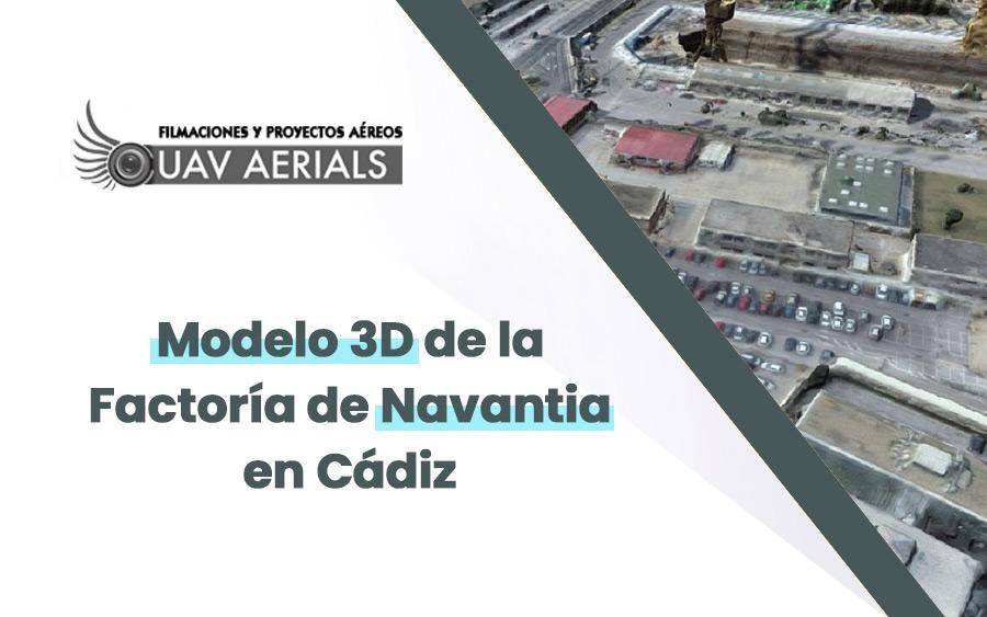 Protegido: Modelo 3D Factoría Navantia en Cádiz