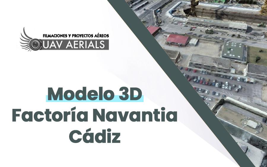 modelo 3D factoría navantia cádiz