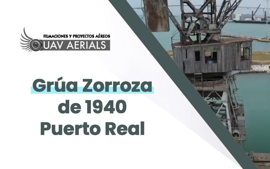 grua zorroza de 1940 puerto real vista aerea